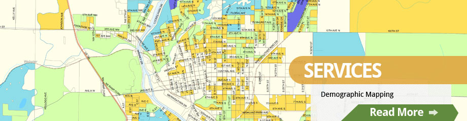 Demographic Mapping by Rolling Hills Consulting
